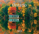 Ontario 2018 Wall Calendar by Firefly Books