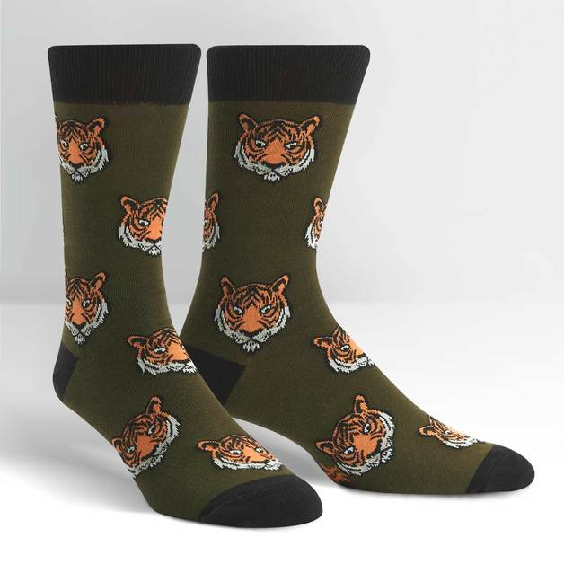 Men's - Fierce Feet Crew Socks