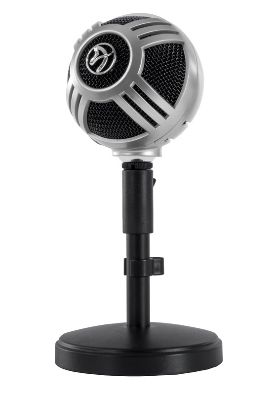 Arozzi Sfera Microphone (Chrome) for PC