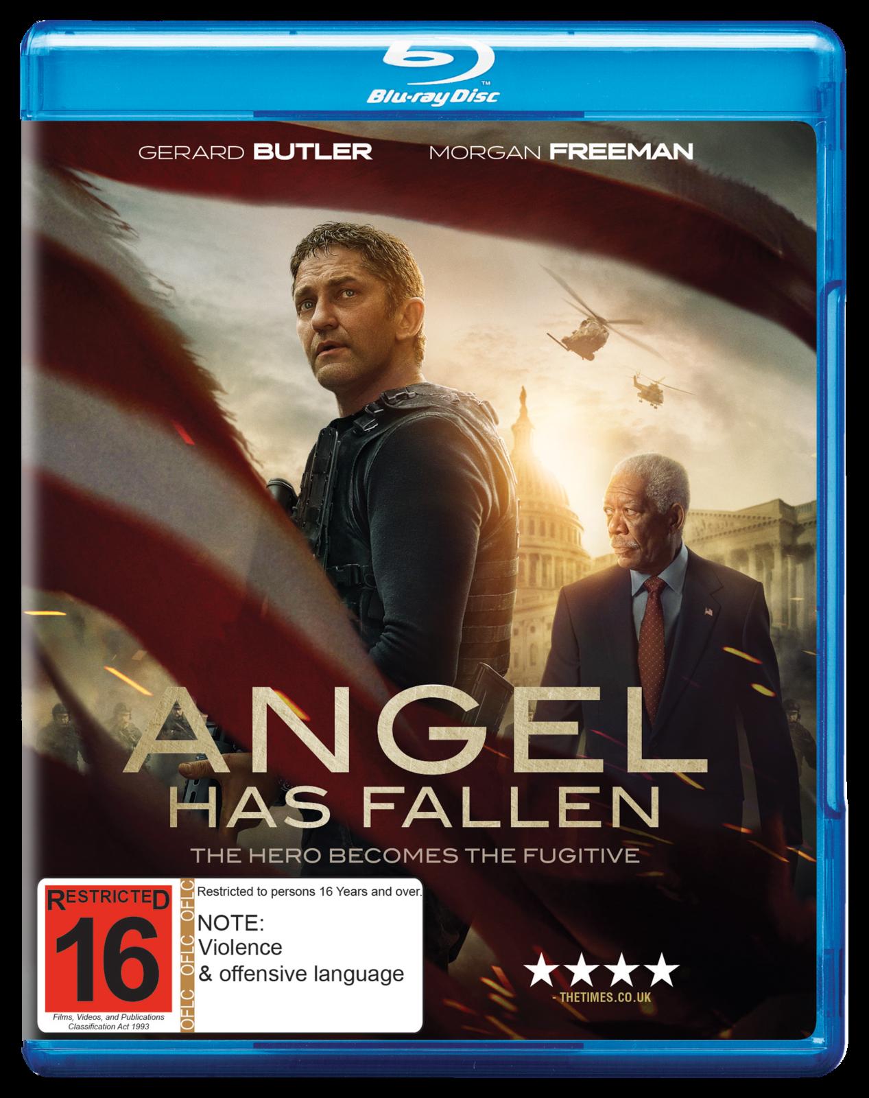 Angel Has Fallen on Blu-ray image