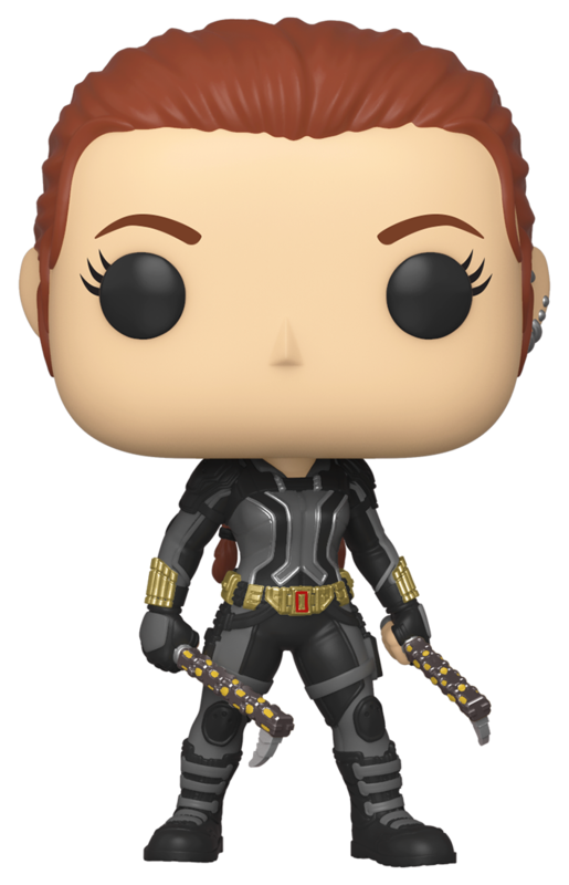 Black Widow: Black Widow (Grey Suit) - Pop! Vinyl Figure