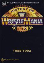 WWE - History Of Wrestlemania 1-9: 1985-1993 on DVD