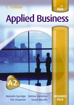 Applied Business A2 for AQA Resource Pack by Malcolm Surridge image