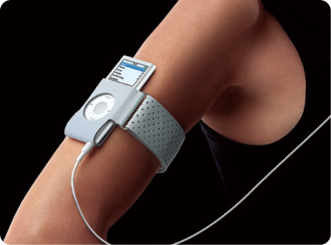 Apple iPod nano Armband - Grey image