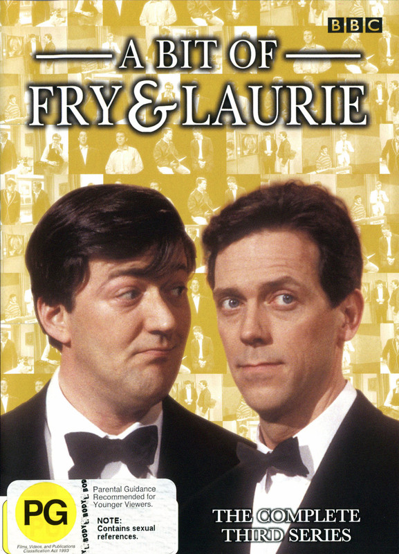 Bit Of Fry And Laurie, A - Complete Series 3 on DVD