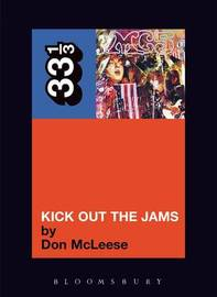 The MC5 Kick Out the Jams by Don McLeese image
