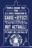Dr Who Wibbly Wobbley Wall Poster