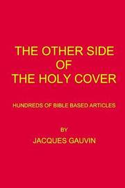 The Other Side of the Holy Cover by Jacques Gauvin image