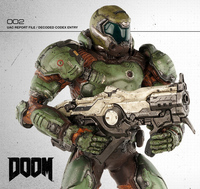 Doom Marine 1:6 Scale Figure