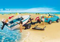 Playmobil: Summer Fun - Surfer Pickup with Speedboat image