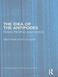 The Idea of the Antipodes by Matthew Boyd Goldie image