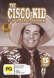Cisco Kid Collection, The (5 Disc) on DVD image