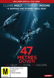 47 Meters Down on DVD image