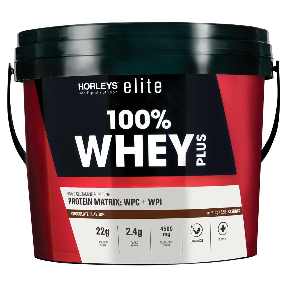 Horleys 100% Whey Plus - Chocolate (2.5kg) image