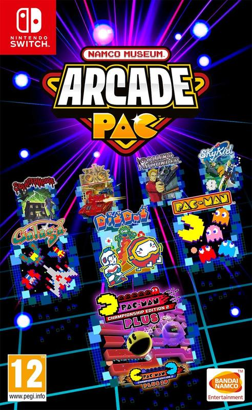 Namco Museum Arcade Pac for Switch