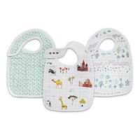 Aden + Anais: Classic Snap Bib - Around The World (3 Pack)