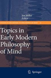 Topics in Early Modern Philosophy of Mind image