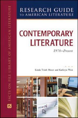 CONTEMPORARY LITERATURE, 1970-PRESENT by Linda Trinh Moser image
