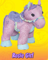 Doodle Bear Colour By Number Pony - Rosie Girl