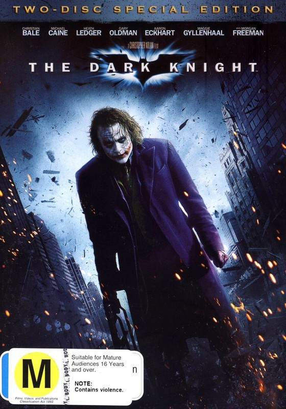 The Dark Knight (2 Disc Set) on DVD