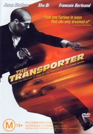 The Transporter on DVD image