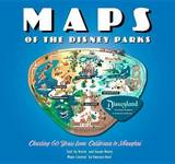 Maps of the Disney Parks by Vanessa Hunt