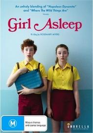 Girl Asleep on DVD