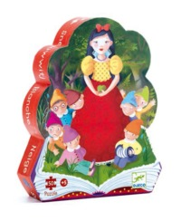 Djeco: Snow White Silhouette - 50pc Puzzle