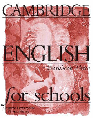 Cambridge English for Schools 3 Workbook: Bk. 3: Workbook by Andrew Littlejohn