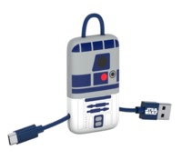 Tribe: Micro-USB Keyline Cable with Pouch - R2-D2 (22cm)