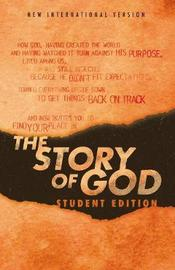 NIV, The Story of God, Student Edition, Paperback by Zondervan