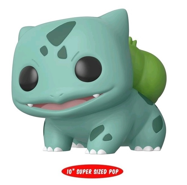 "Pokemon: Bulbasaur - 10"" Super Sized Pop! Vinyl Figure"
