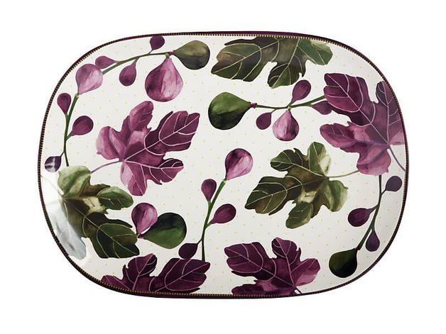 Maxwell & Williams: Fig Garden Oblong Platter - 45cm