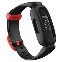 Fitbit Ace 3 Kid's Activity Tracker - Black/ Racer Red