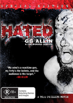 Hated - GG Allin & The Murder Junkies on DVD