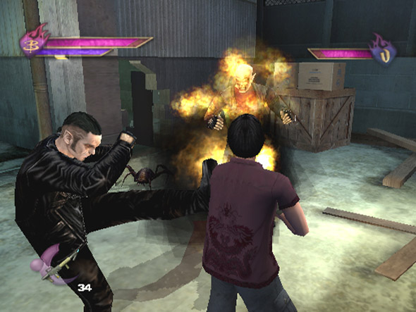 Buffy the Vampire Slayer: Chaos Bleeds for GameCube image