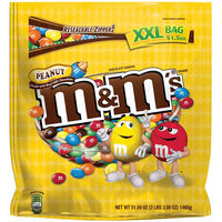 M&M Resealable XXL Bag Peanut 1.46kg