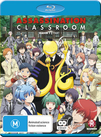 Assassination Classroom - Part 1 on Blu-ray image