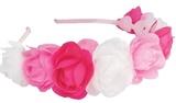 Great Pretenders - Rose Puff Headband