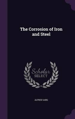The Corrosion of Iron and Steel by Alfred Sang