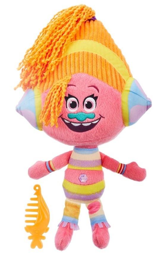 DreamWorks Trolls: DJ Suki - Talkin Trolls Doll image