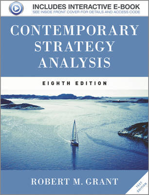 Contemporary Strategy Analysis Text Only by Robert M Grant image