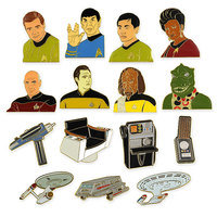 Star Trek 50th Anniversary Collectible Pin - Blind Bag