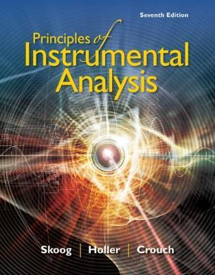 Principles of Instrumental Analysis by Stanley Crouch image
