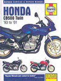 Honda CB500 Service and Repair Manual (1993-2001) by Phil Mather image