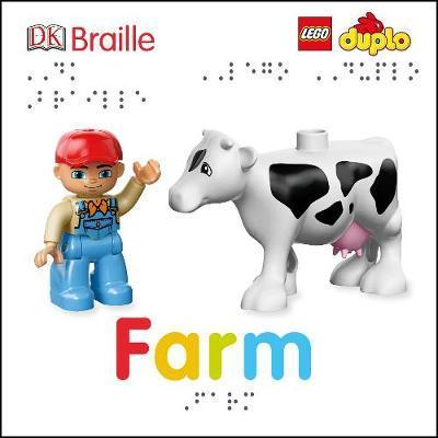 DK Braille LEGO DUPLO Farm by Emma Grange image