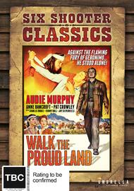 Walk The Proud Land (Six Shooter Classics) on DVD