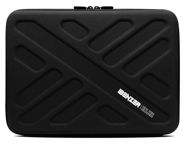 "iBenzer Bumptect 13.3"" EVA Waterproof Protective Laptop Case Sleeve Bag -Black"