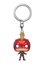 Captain Marvel - Pocket Pop! Keychain image