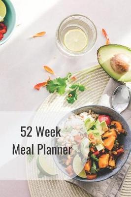 52 Week Meal Planner by Little Jo